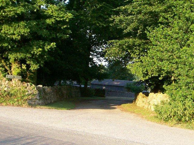 Seven Wells Farm entrance
