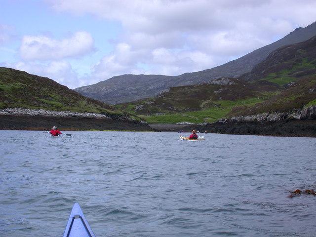 Sloc Dubh na Thabhann, Loch Eynort South Uist