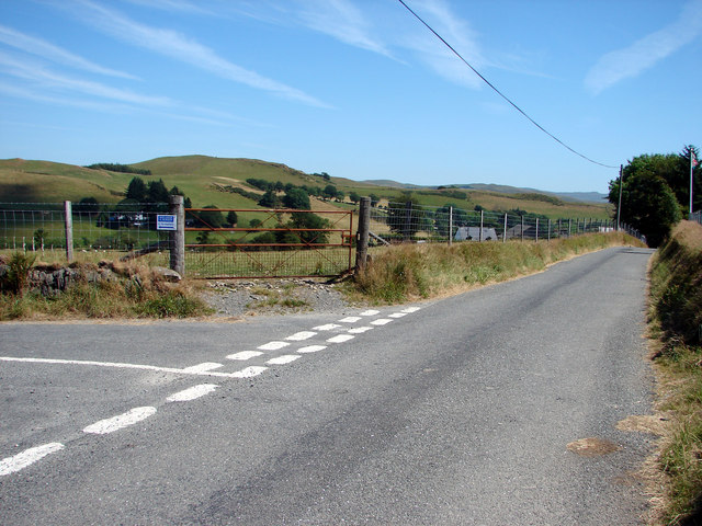 Road Junction at Trisant