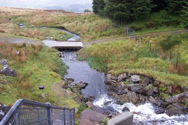 Footbridge over Ceunant y Garnedd