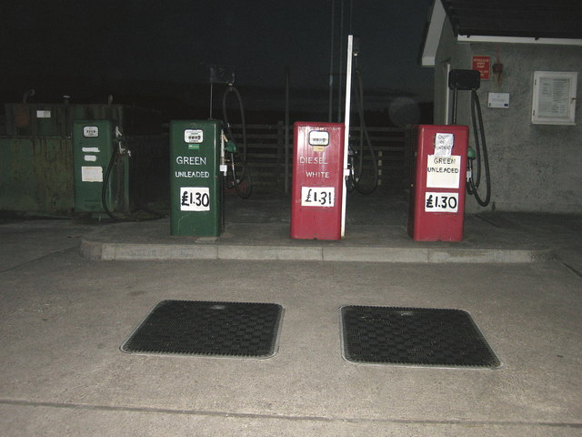 Petrol Station, Coll