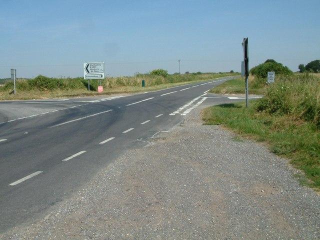 Road Junction B3081 B3078