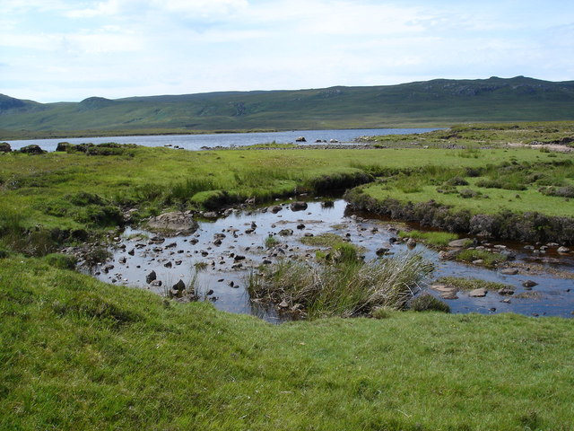 Outflow from Loch Sguod