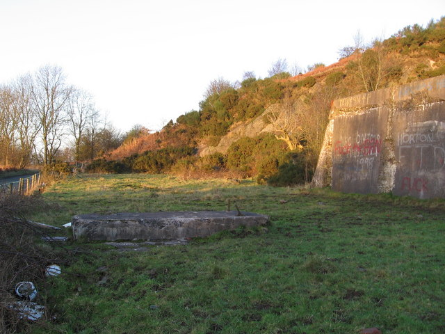 Mill building remains