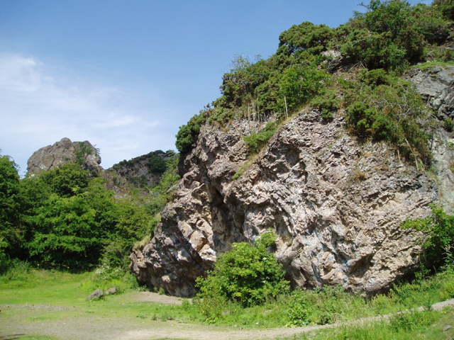 Agassiz Rock, Blackford Glen