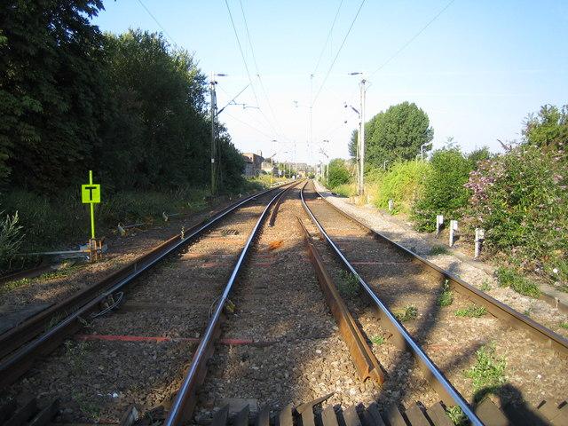 Hertford: Railway line