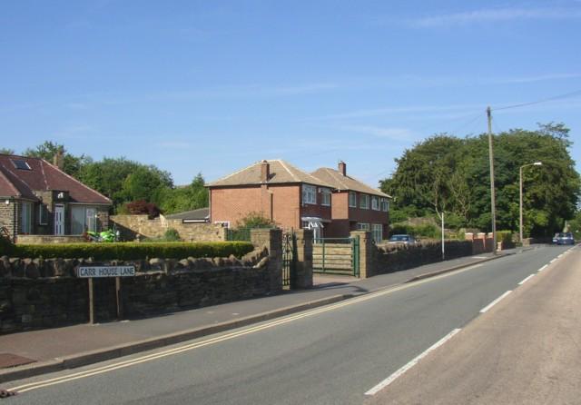 Carr House Lane, Shelf