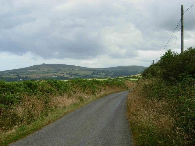 Lane north of Trecwn