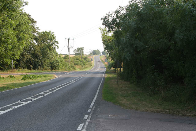 B6403 looking towards Colsterworth
