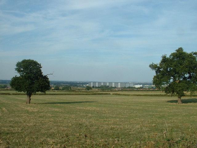 Farmland near the B5125