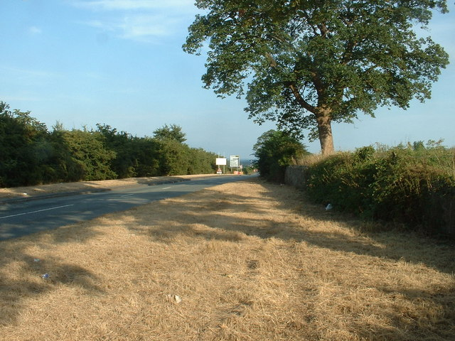 The B5125 near Hawarden