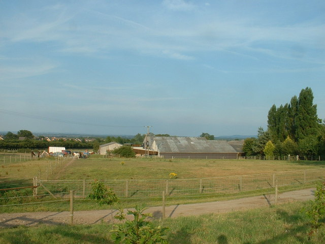 Oak Farm near Broughton
