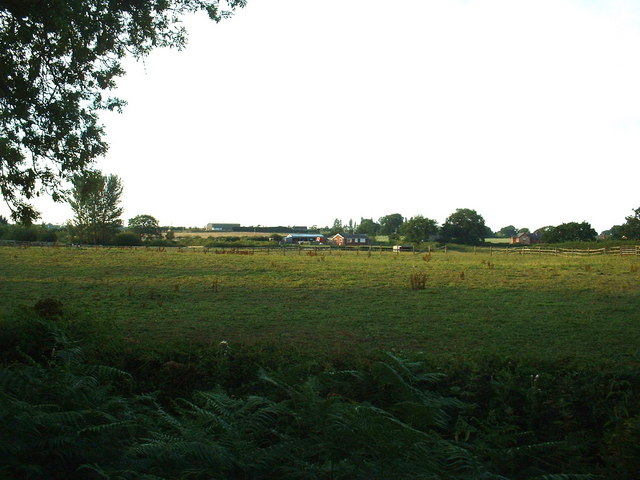 Farmland at Blackbrook