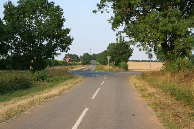 Heath Lane near Ancaster