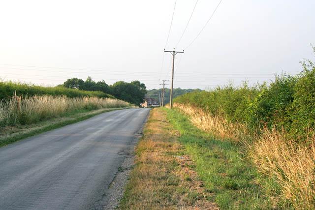 King Street near Oasby