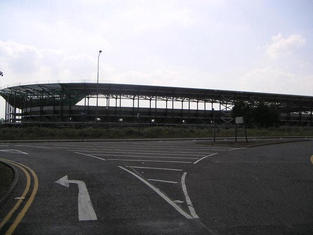 Denbigh Stadium in Construction