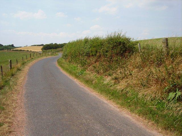A Berwickshire lane