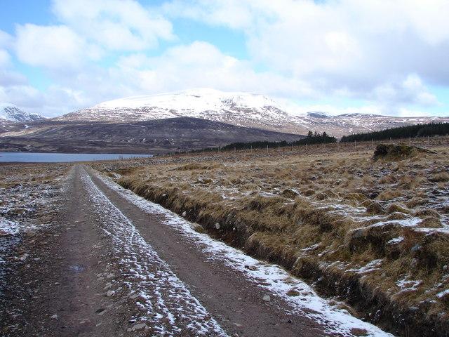 The Track to Ben Alder