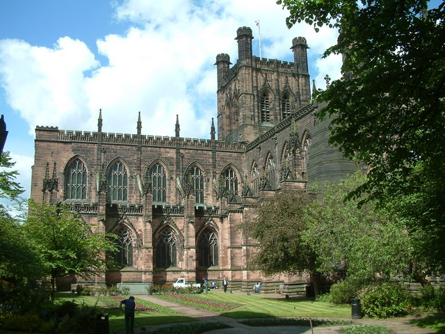 Chester, The Cathedral