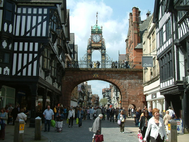 Chester, The Eastgate Clock