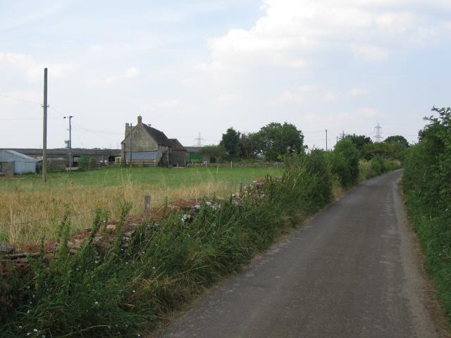 Approaching West Barn Farm