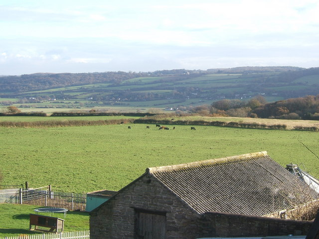 Gordano Valley from Hill Top