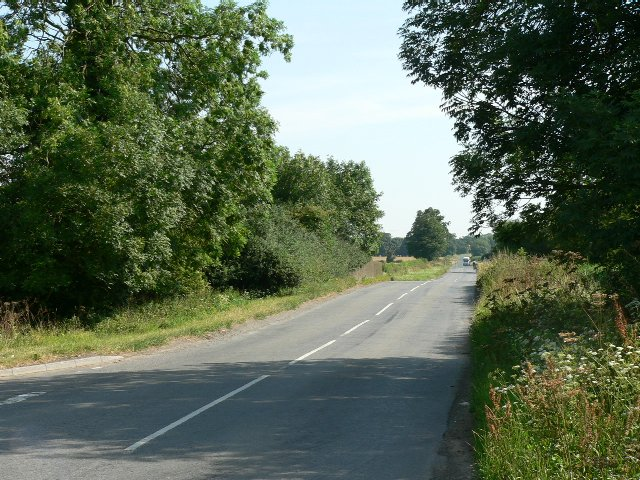 The Road to Strensall from Sheriff Hutton