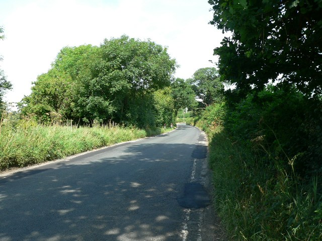 The Road to West Lilling from Thornton Moor