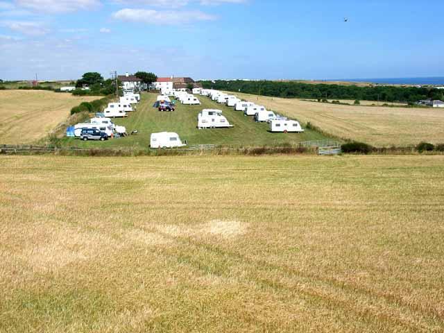 Caravan site at Crimdon House