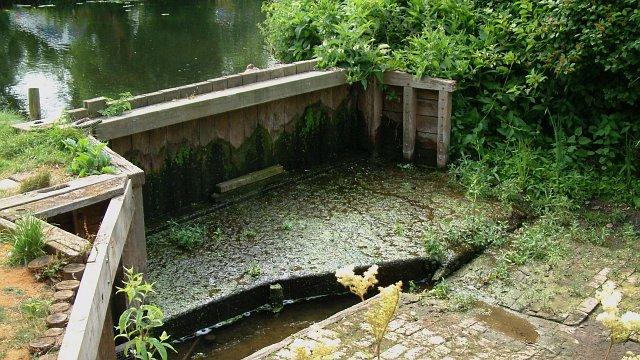 Dry dock near Flatford Mill