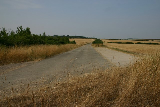 Former 'A' road at Ixworth