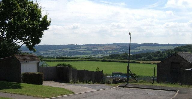 Gordano Valley from Tower Road