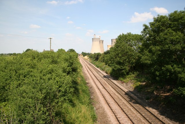 View from Station Road Bridge