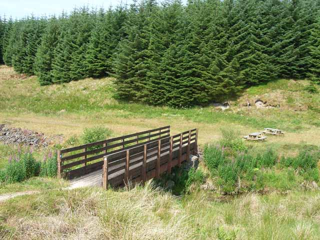 The border bridge at Scotch Knowe