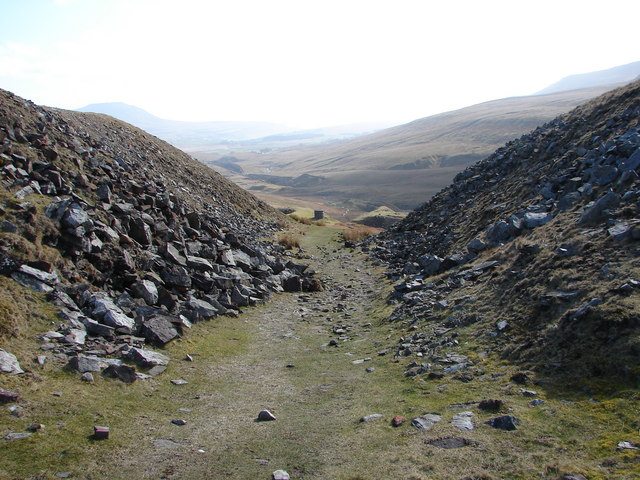 Track across Blea Moor
