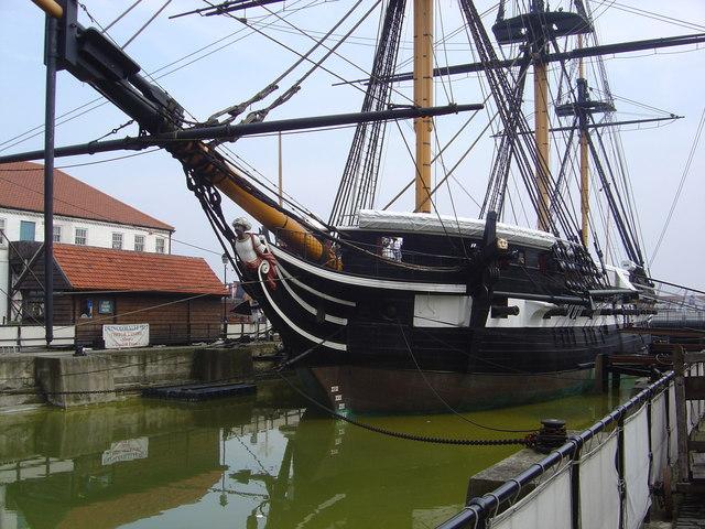 HMS Trincomalee(Hartlepool Historic Quay)