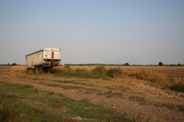 Farmland near Cottam