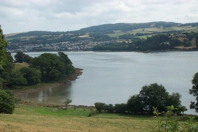 Afon Conwy shore near Glan Conwy