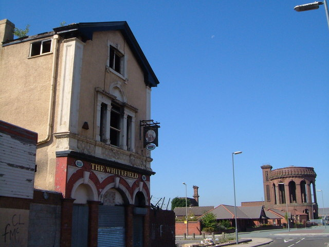 The Whitefield, Everton