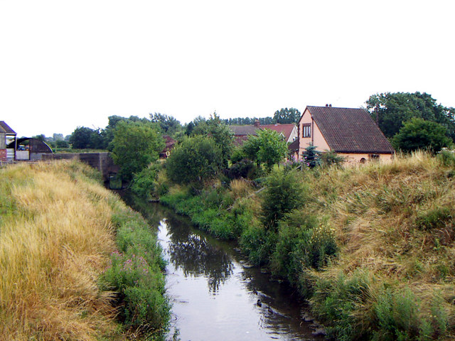 Barrow Haven - The Beck - Looking Upstream