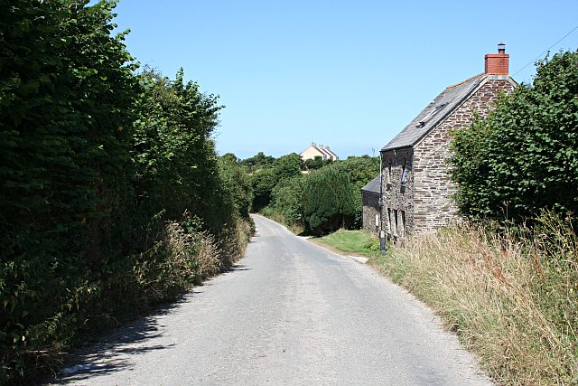The Road North from Tredinnick