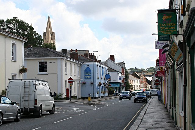 Frances Street and River Street Truro