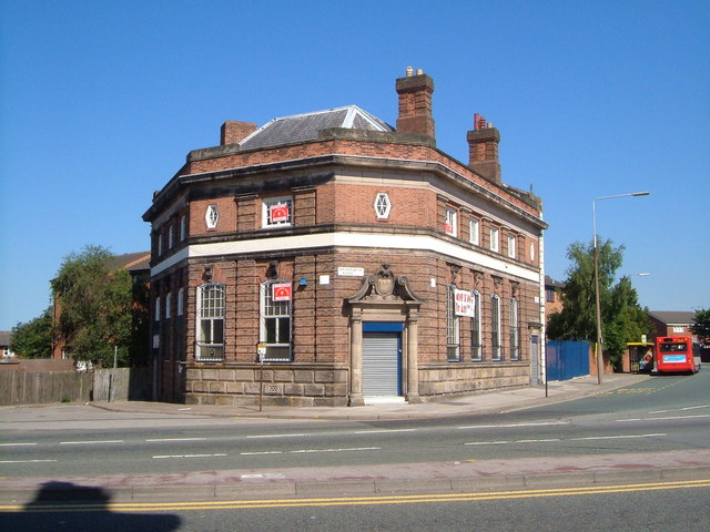 Former bank, corner of Everton Road and Brunswick Road, Liverpool