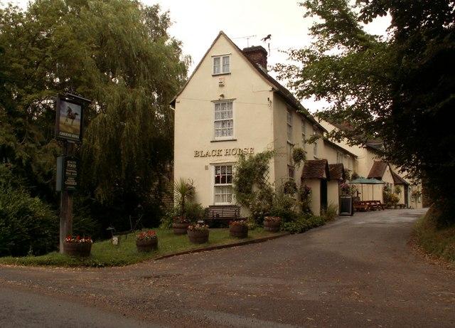 'Black Horse' inn, Brent Pelham, Herts.
