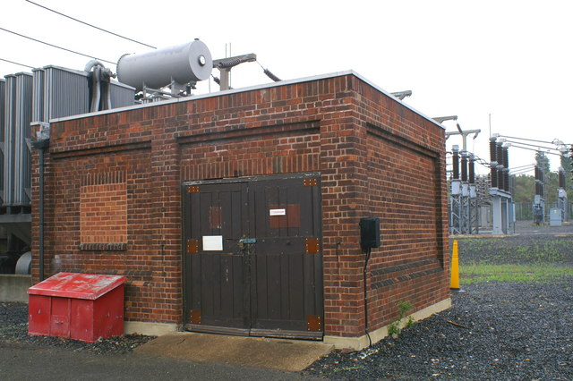 SK 000000 Electricity SubStation at Poukhill