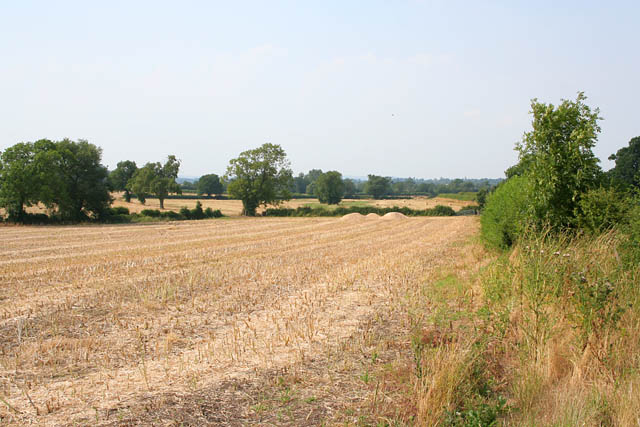 Farmland near Kilby, Leicestershire