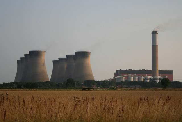 Cottam Power Station from Broad Lane