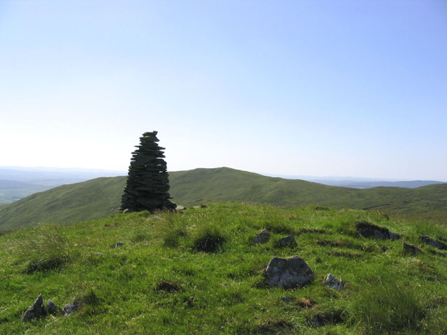 From a cairn near Buzzard Linn looking towards Dob's Craig