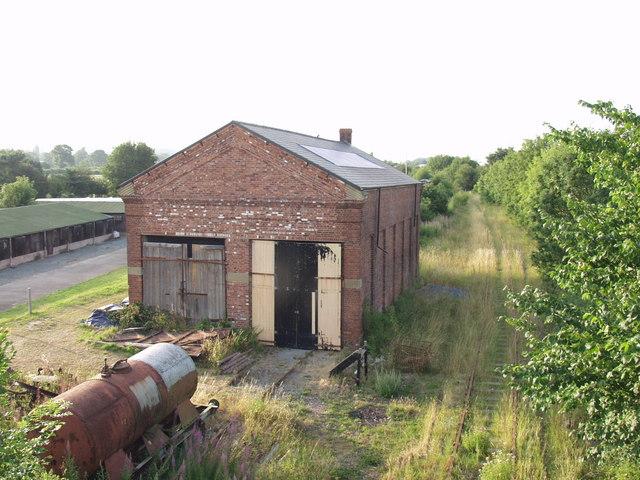 Railway buildings at Weston