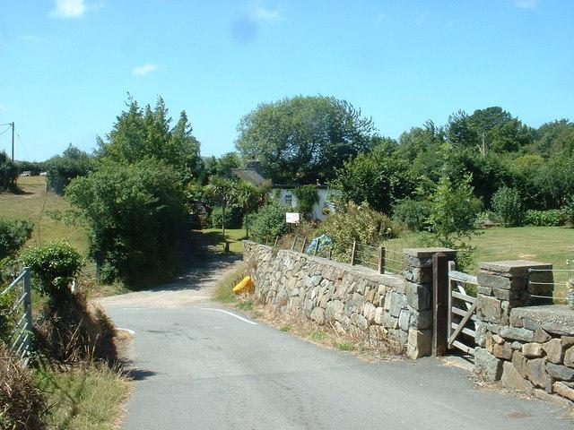 Road near Tan-y-fron